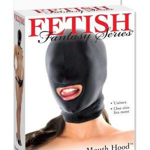 Cagoule spandex bouche ouverte accessoire femme